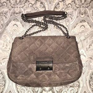 Michael Kors Sloan Large Suede Shoulder Bag